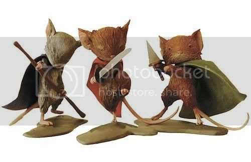 Mouse Guard Miniaturas