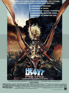 heavy metal movie poster Pictures, Images and Photos